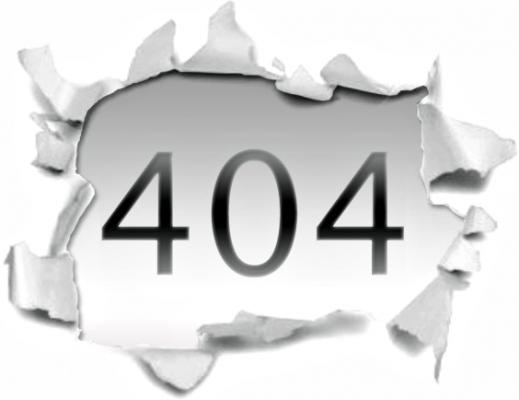 erreur 404 joomla