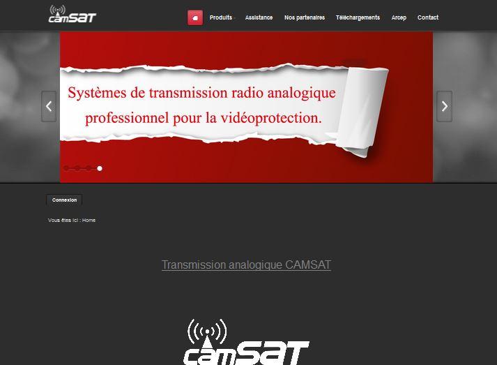 Camsat vidéoprotection radio analogique