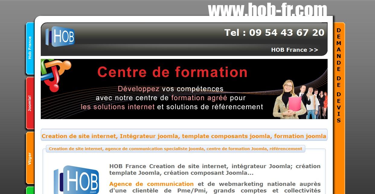 cration site internet